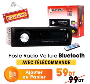 Poste Radio Voiture -Auto Radio bluetooth star one