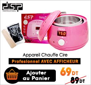 Appareil Chauffe Cire Professionnel DSP 70016 Rose