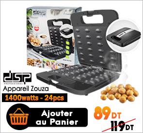 Appareil Zouza 1400W Grand Format DSP KC1154