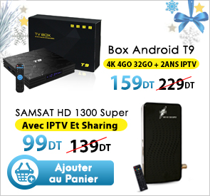 Box ndroid - samsat 1300 super