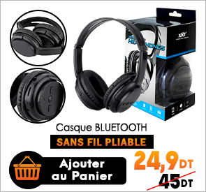 Casque Bluetooth XK-6800 Pliable