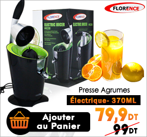 Presse Agrumes Électrique 370ml FLORENCE HK330
