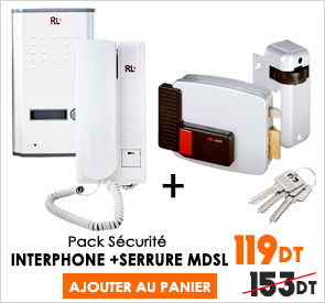 pack sécurité Last price tunisie