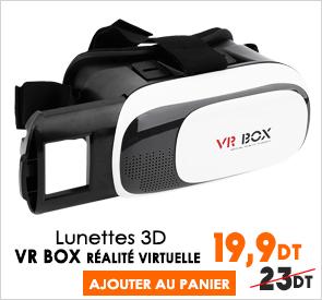 VR BOX- Lunettes 3D Réalité Virtuelle